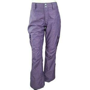 Aperture Purple M Ski Snowboard 10000mm Pants